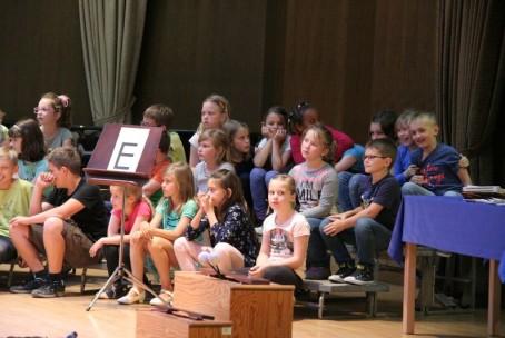 Kviz iz nauka o glasbi za učence 1. razreda Glasbene šole Velenje