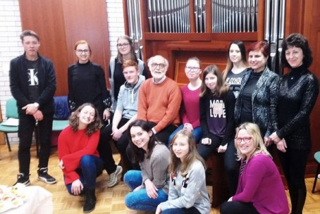16. mednarodna orgelska šola - mentor Lorenzo Ghielmi