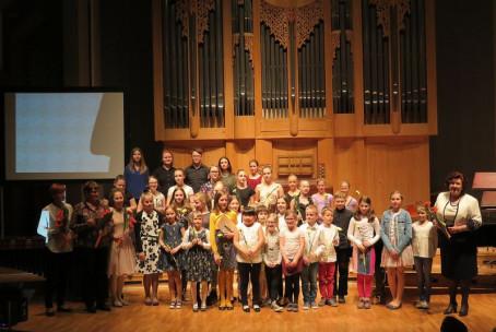 Mladi ustvarjalci, nastop učencev in dijakov Glasbene šole Velenje z lastnimi skladbami