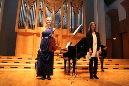 Margarita Ulokina - violina, recital