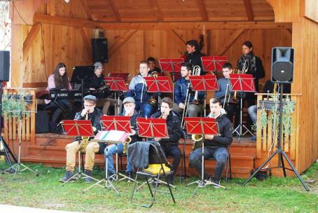 Nastop učencev Glasbene šole Velenje na Martinovo v Martinovi vasi