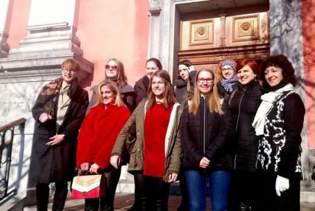 Orgelska maša za tuje diplomate, nastop učencev in dijakov oddelka za orgle Glasbene šole Velenje, Frančiškanska cerkev Ljubljana