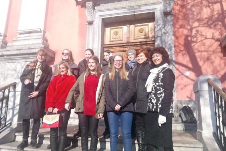 Koncertna maša za tuje diplomate, nastop učencev in dijakov oddelka za orgle Glasbene šole Velenje, Frančiškanska cerkev Ljubljana