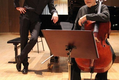 Koncert - Miloš Mlejnik (violončelo) in Erwin Kropfitsch (klavir), 30. 3. 2015