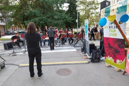 Rhythm Factory in Big band na Dnevu mobilnosti