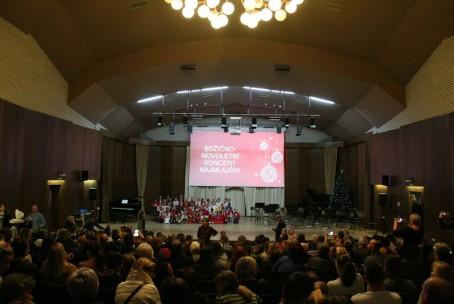 Božično-novoletni koncert najmlajših