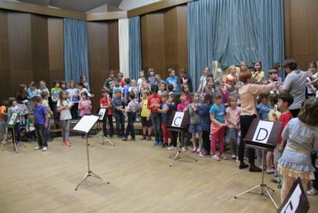 Kviz iz nauka o glasbi - učenci 1. razreda, 18. 5. 2015