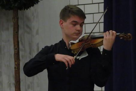 Nikola Pajanović (violina), koncert