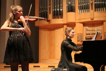 Nina Oder - violina, koncert