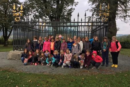 Otroški pevski zbor Glasbene šole Velenje na izletu po avstrijskem Koroškem