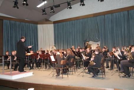Koncert - Pihalni orkester Glasbene šole Velenje in Mladinski pihalni orkester Glasbene šole Stuttgart