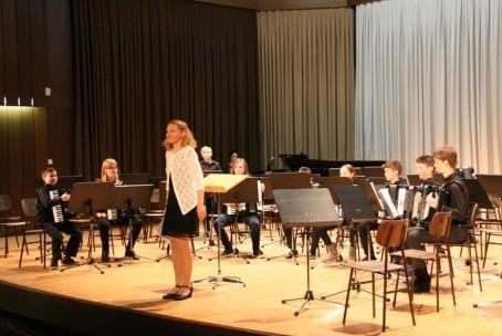 Koncert harmonikarskih orkestrov glasbenih šol Žalec, Laško - Radeče, Slovenj Gradec in Velenje