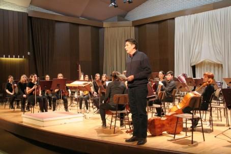 Koncert orkestrov glasbenih šol iz Raven na Koroškem in Velenja, 25. 1. 2016