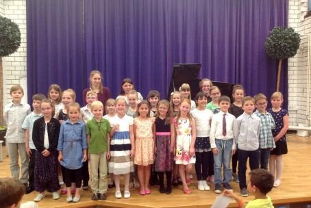 Zaključni nastop pianistov 1. razreda Glasbene šole Velenje