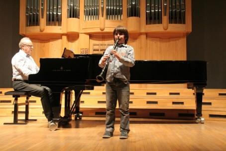 Koncert pihalcev Glasbene šole Velenje, 26. 11. 2015