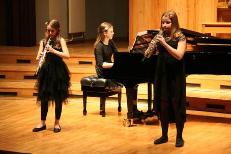 Koncert pihalcev Glasbene šole Velenje