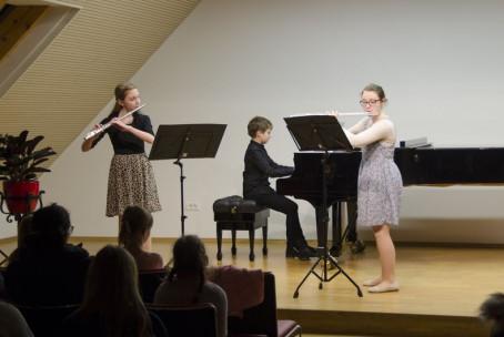 Gostovanje učencev pihalnega oddelka Glasbene šole Velenje v Glasbeni šoli Slovenj Gradec