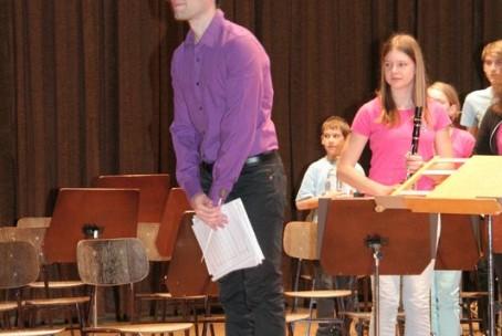 Koncert pihalnih orkestrov glasbenih šol iz Škofje Loke in Velenja