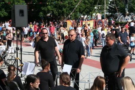 Zaključna slovesnost 30. Pikinega festivala - nastop pihalnih orkestrov Glasbene šole Velenje
