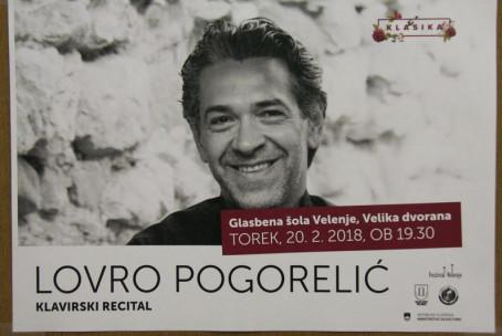 Lovro Pogorelić (klavir), pred 5. koncertom abonmaja Klasika