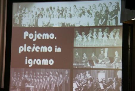 Pojemo, plešemo in igramo - nastop skupin Glasbene šole Velenje ob koncu pouka