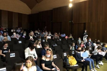 Nastop učencev prvega razreda klavirja Glasbene šole Fran Korun Koželjski Velenje