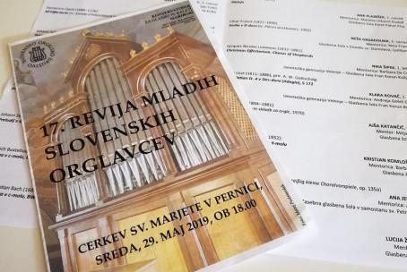 17. revija mladih slovenskih orglavcev, župnijska cerkev sv. Marjete v Pernici pri Mariboru (fotografije: Matej Podstenšek in Sandi Potočnik)