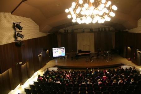 Glasba iz risank za velenjske prvošolce - koncert učiteljev Glasbene šole Velenje