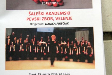 Šaleški akademski pevski zbor, koncert abonmaja Klasika