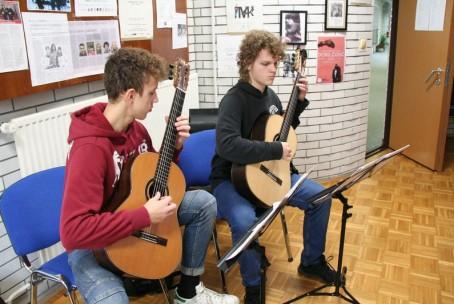 Seminar za kitaro - mentorja Julia in Christian Zielinski (Nemčija)
