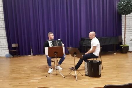 Seminar za harmoniko, mentor Tomaž Marčič