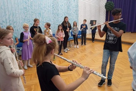 ImprovizANcija, glasbena delavnica, mentor An Černe