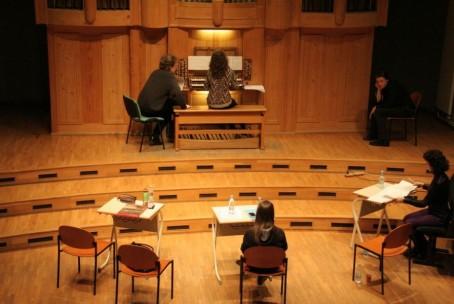 Orgelski seminar, mentor Hannfried Lucke (Salzburg)