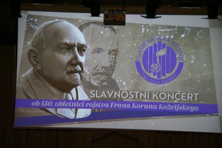 Slavnostni koncert ob 150. obletnici rojstva Frana Koruna Koželjskega