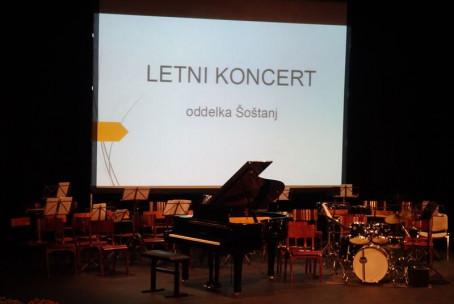 Koncert učencev Glasbene šole Velenje - oddelek Šoštanj