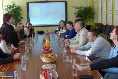 Sprejem gostov iz Glasbene šole Živorad Grbić Valjevo na Mestni občini Velenje