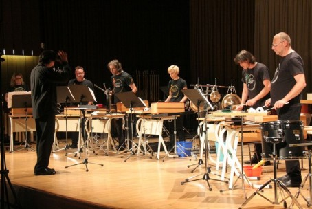 Slovenski tolkalni projekt - SToP na koncertnem odru