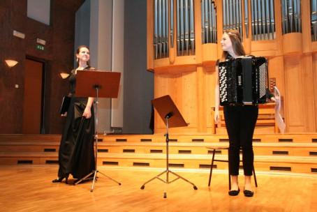Koncert študentov harmonike Akademije za glasbo v Ljubljani z gosti