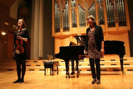 Koncert študentov violine Akademije za glasbo Ljubljana
