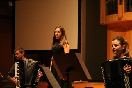 Koncert študentov harmonike Akademije za glasbo v Ljubljani