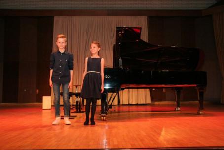 Vesele - črne in bele - tipke, letni koncert učencev osnovne stopnje klavirja Glasbene šole Velenje
