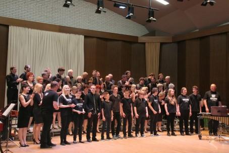 Večer tolkalcev Glasbene šole Velenje, gosti MeKPZ Celje in MePZ 'Cetis' Celje