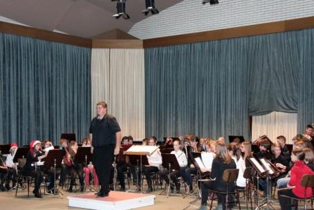 Tris orkestrov Glasbene šole Velenje, 17. december 2014