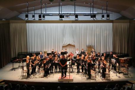 Zimski tris, koncert pihalnih orkestrov Glasbene šole Velenje