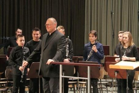 Novoletni tris orkestrov Glasbene šole Velenje