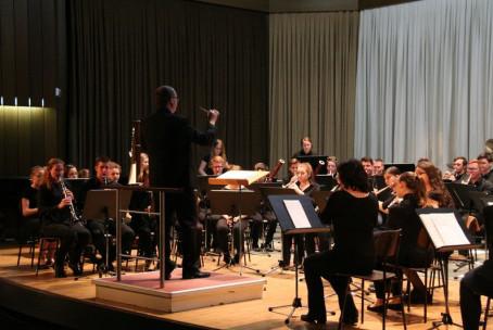 Spomladanski tris pihalnih orkestrov Glasbene šole Velenje, koncert