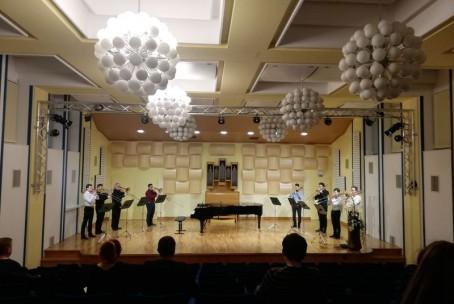 Tromboniada, nastop naših pozavnistov (Glasbena šola Celje)