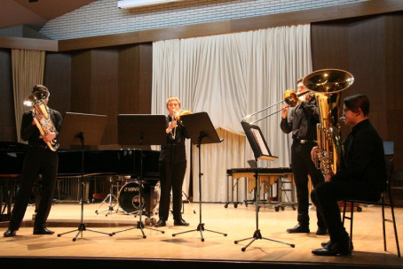 Koncert trobilcev in tolkalcev Glasbene šole Velenje