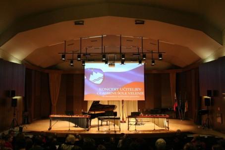 Koncert učiteljev Glasbene šole Velenje ob slovenskem kulturnem prazniku