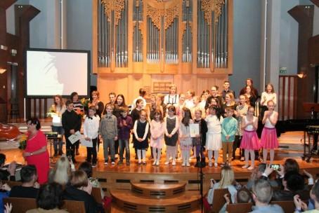 Mladi ustvarjalci, koncert učencev in dijakov Glasbene šole Velenje z lastnimi skladbami